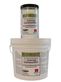 CR-531  Inside Epoxy - Interior Floor Coating - 3/4 Gallon Kit