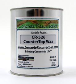 Concrete Counter Top Wax