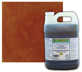 Reactive Acid Chemical (RAC) Concrete Stain - Clay Canyon 1 Gal.