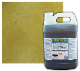 Reactive Acid Chemical (RAC) Concrete Stain - Summer Wheat (Interior Only) 1 Gal.
