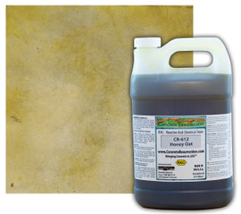 Reactive Acid Chemical (RAC) Concrete Stain - Honey Oat 1 Gal.