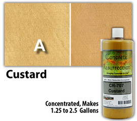 Water Reducible Concentrated (WRC) Concrete Stain - Custard 32oz