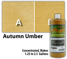 Water Reducible Concentrated (WRC) Concrete Stain - Autumn Umber 32oz