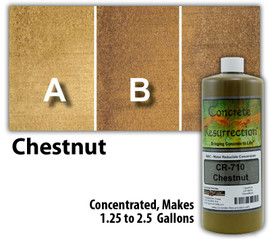 Water Reducible Concentrated (WRC) Concrete Stain - Chestnut 32oz