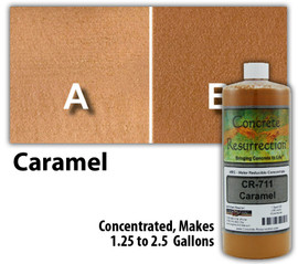 Water Reducible Concentrated (WRC) Concrete Stain - Caramel 32oz