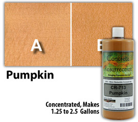 Water Reducible Concentrated (WRC) Concrete Stain - Pumpkin 32oz