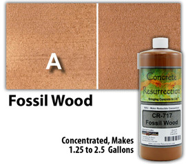 Water Reducible Concentrated (WRC) Concrete Stain - Fossil Wood 32oz
