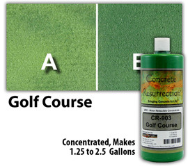 Water Reducible Concentrated (WRC) Concrete Stain - Golf Course 32oz
