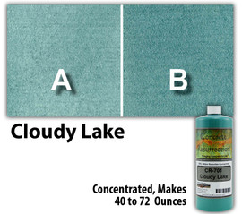 Water Reducible Concentrated (WRC) Concrete Stain - Cloudy Lake 8oz