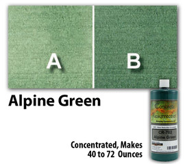 Water Reducible Concentrated (WRC) Concrete Stain - Alpine Green 8oz