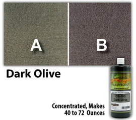 Water Reducible Concentrated (WRC) Concrete Stain - Dark Olive 8oz