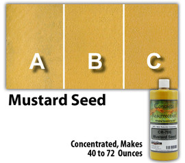 Water Reducible Concentrated (WRC) Concrete Stain - Mustard Seed 8oz