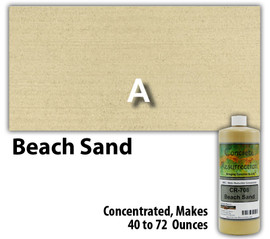 Water Reducible Concentrated (WRC) Concrete Stain - Beach Sand 8oz