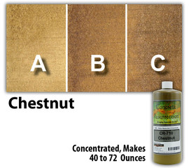Water Reducible Concentrated (WRC) Concrete Stain - Chestnut 8oz