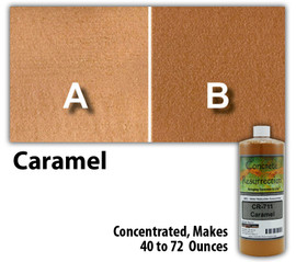 Water Reducible Concentrated (WRC) Concrete Stain - Caramel 8oz