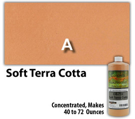 Water Reducible Concentrated (WRC) Concrete Stain - Soft Terra Cotta 8oz