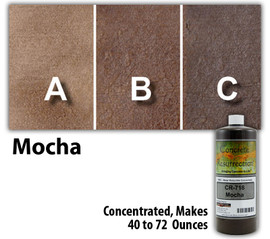 Water Reducible Concentrated (WRC) Concrete Stain - Mocha 8oz
