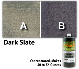 Water Reducible Concentrated (WRC) Concrete Stain - Dark Slate 8oz