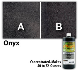 Water Reducible Concentrated (WRC) Concrete Stain - Onyx 8oz