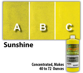 Water Reducible Concentrated (WRC) Concrete Stain - Sunshine 8oz