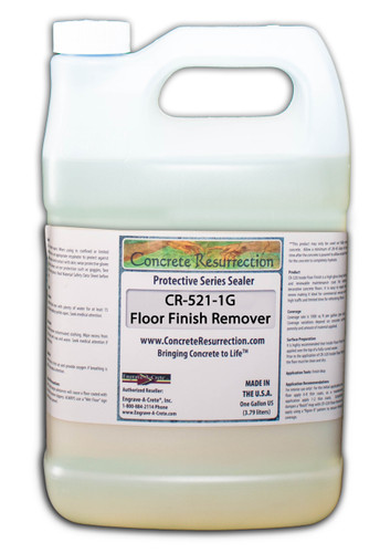 CR-521 Inside Floor Finish Remover