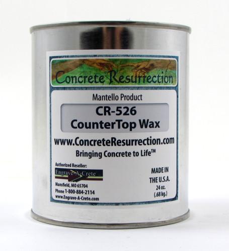 Concrete Counter Top Wax
