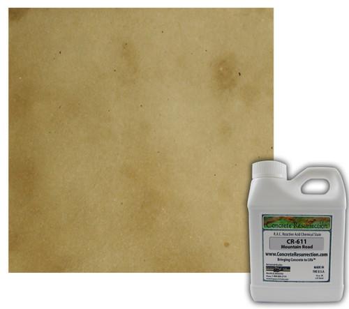 Reactive Acid Chemical (RAC) Concrete Stain - Mountain Road 16oz