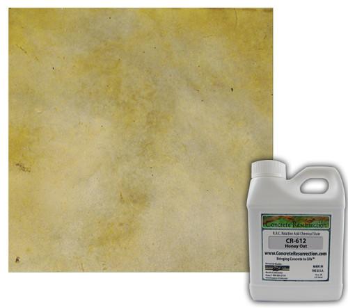 Reactive Acid Chemical (RAC) Concrete Stain - Honey Oat 16oz