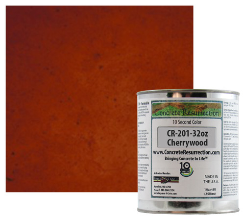 Ten Second Color - Cherrywood 32oz
