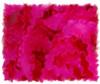 Shocking Pink Double Ruffle Ribbon