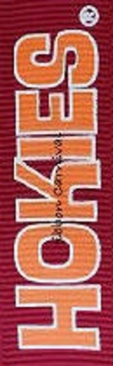 Virginia Tech Grosgrain Ribbon