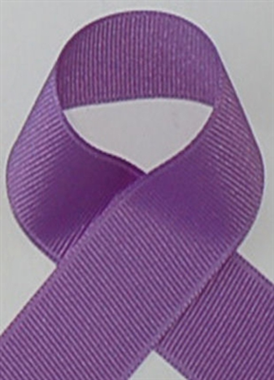 Schiff Dark Orchid Grosgrain Ribbon