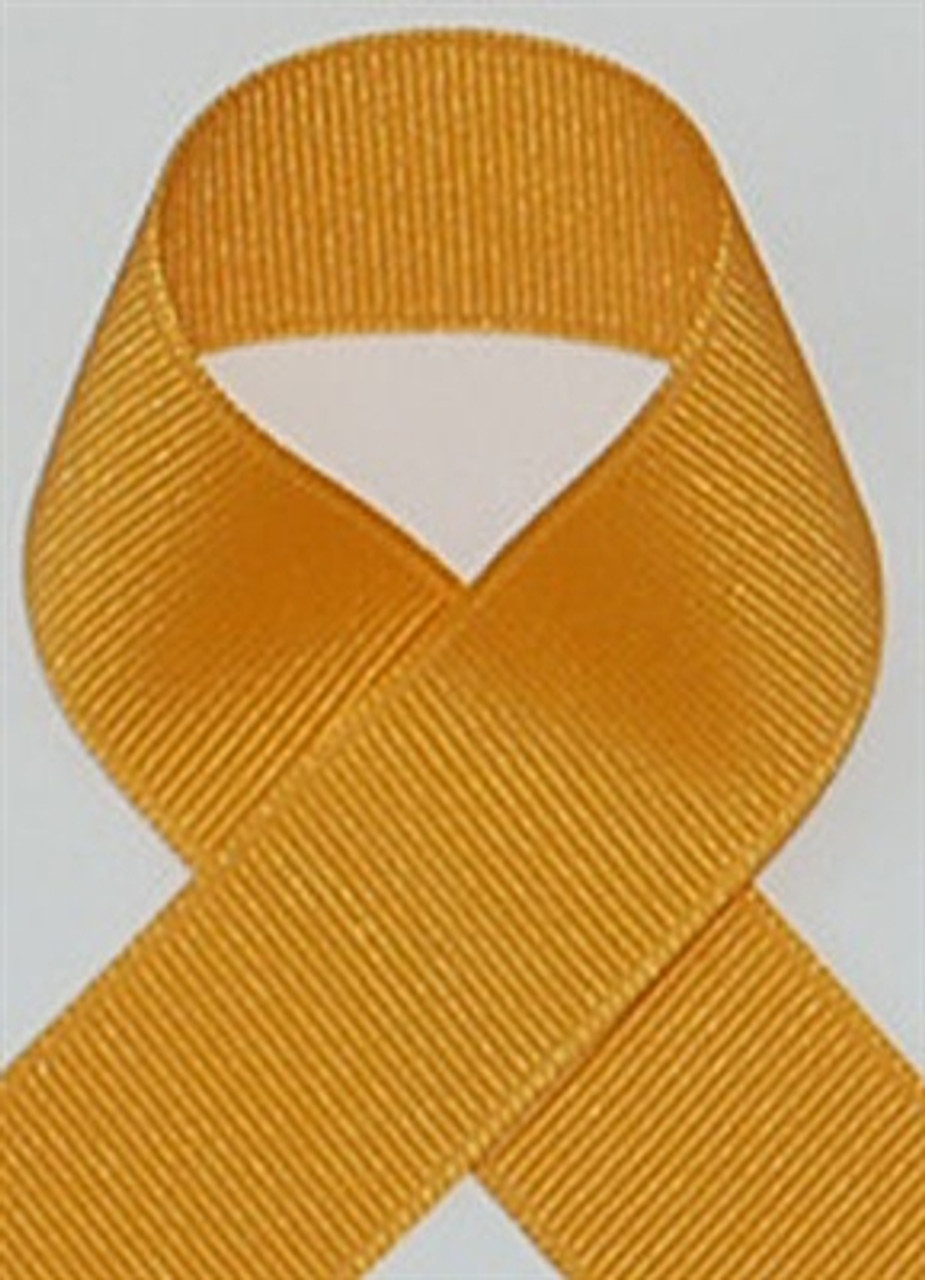 Gold Schiff Grosgrain Ribbon