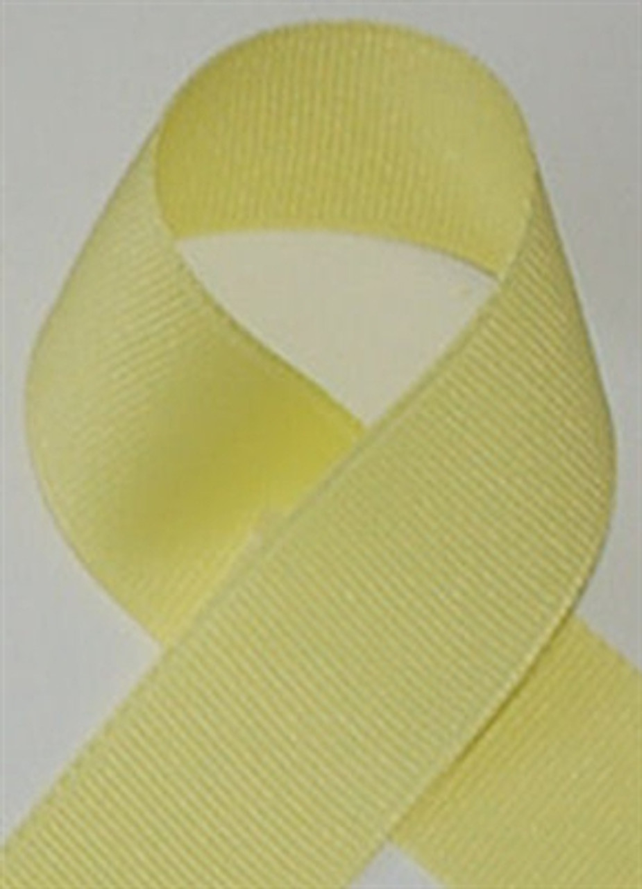 Schiff Maize Grosgrain Ribbon
