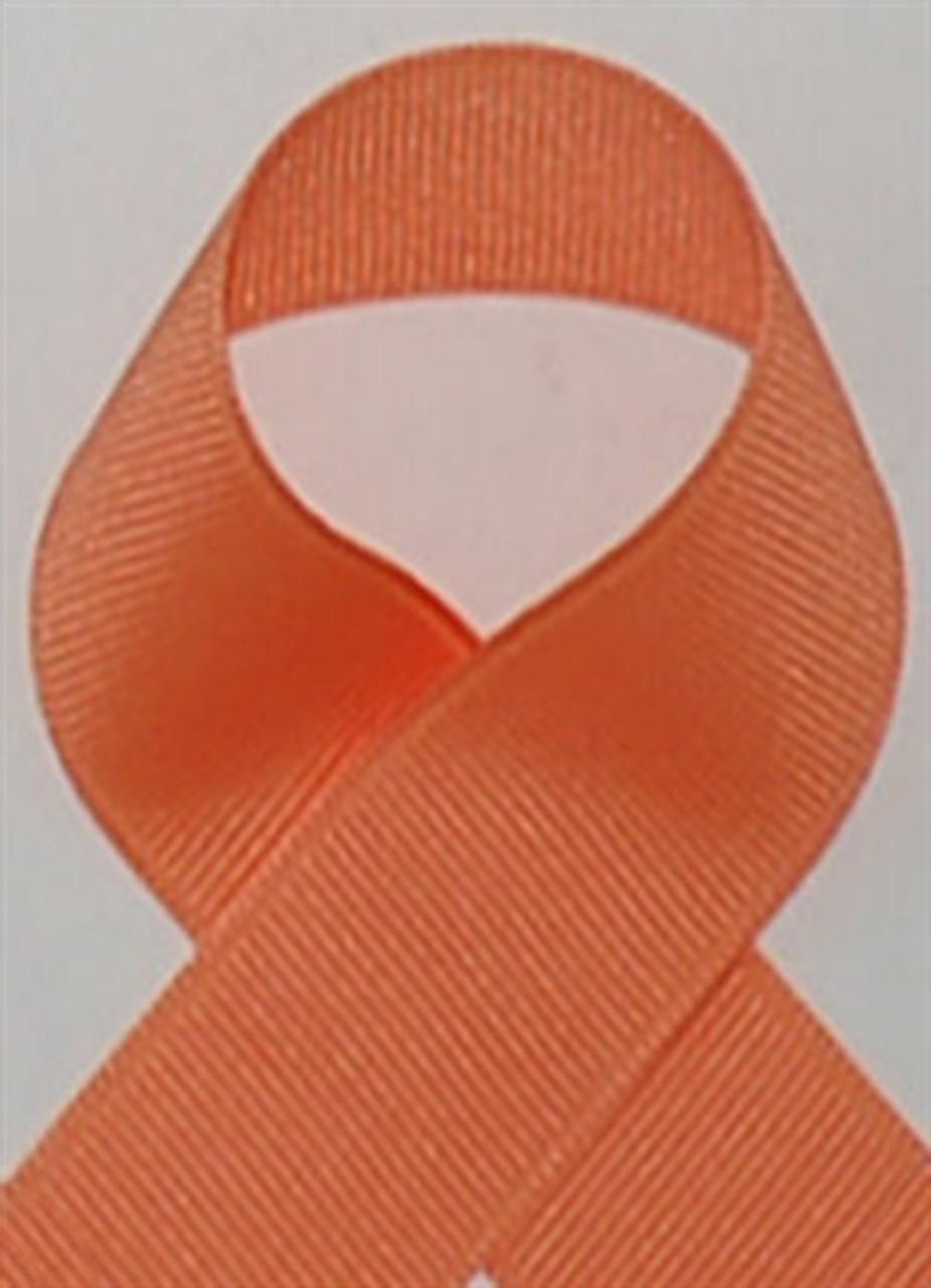 Schiff Apricot Grosgrain Ribbon
