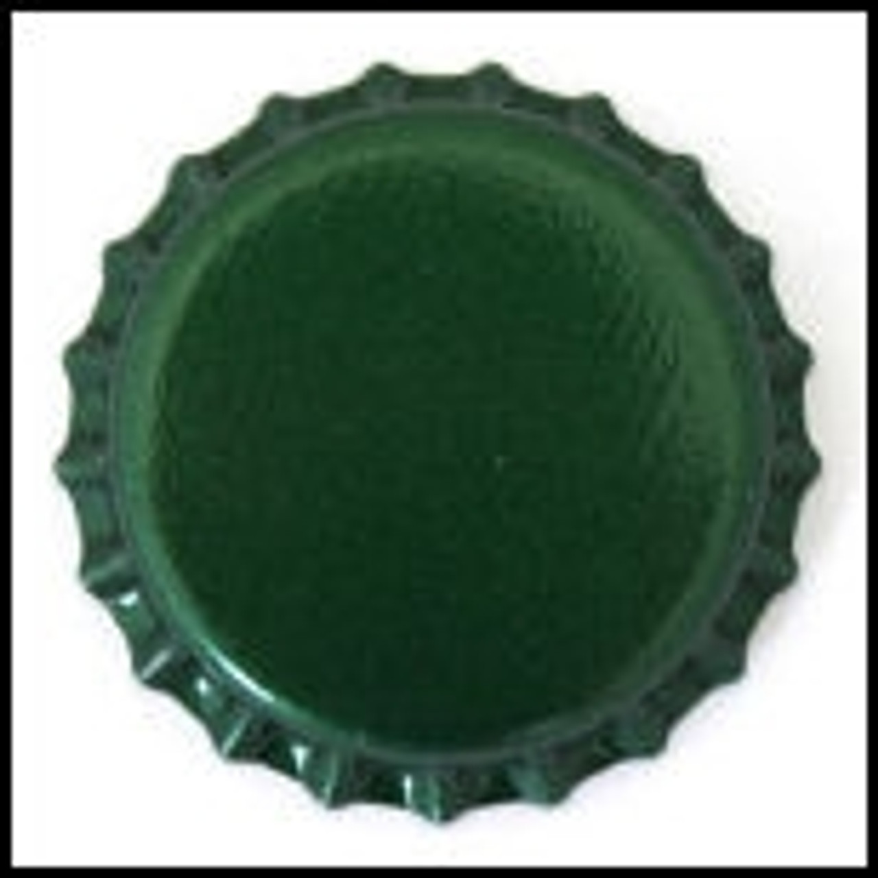 Green Bottle Caps