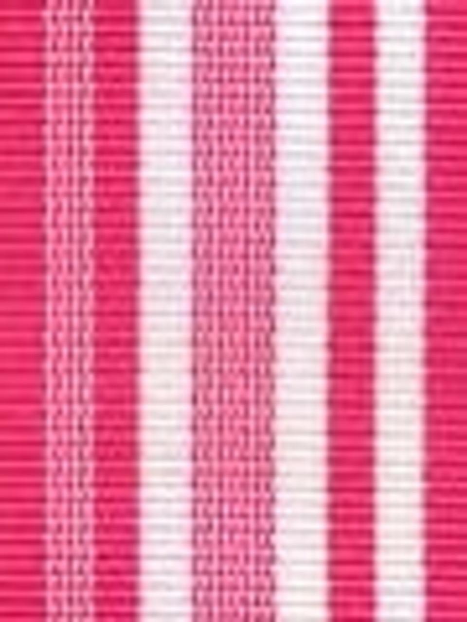 Hot Pink Waves Preppy Stripe Ribbon