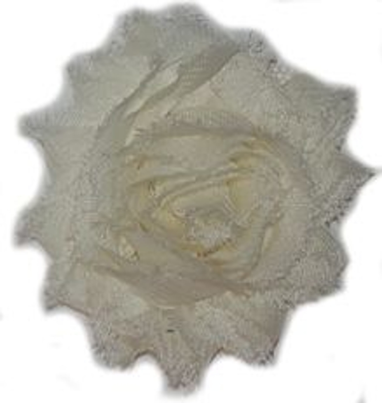 Of White Shabby Chiffon Flowers