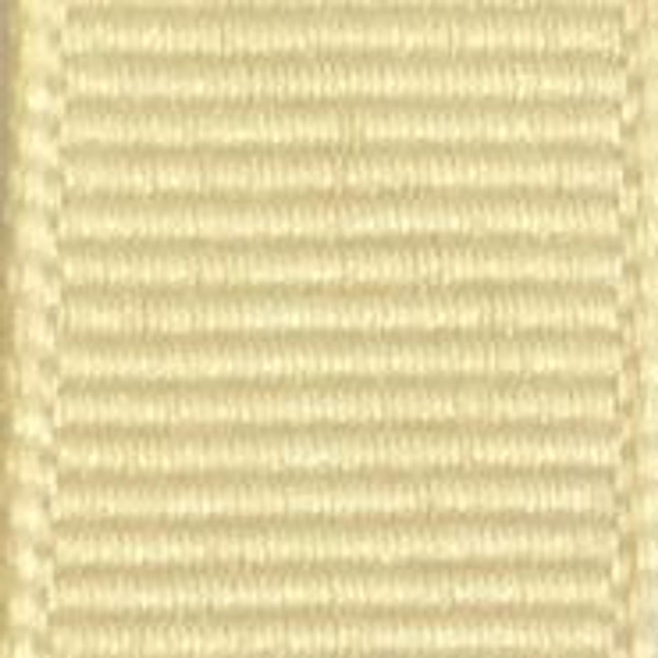 Wheat Offray Grosgrain Ribbon