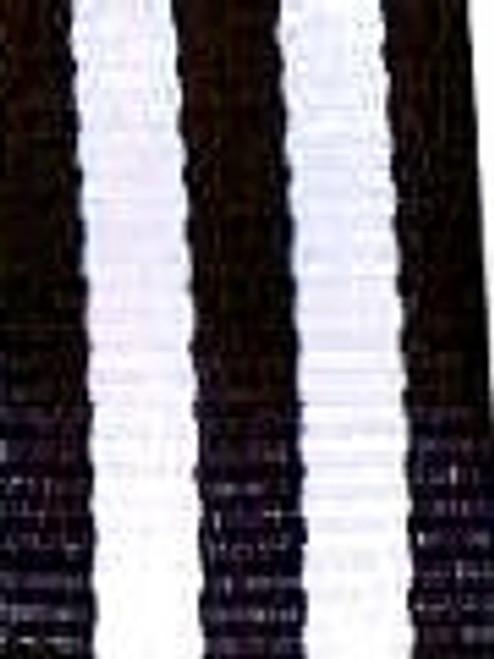 Black and White Striped Ribbon