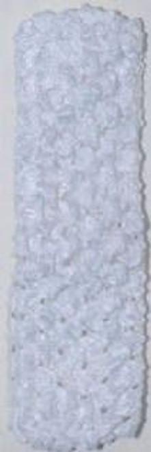 White Crochet Headband