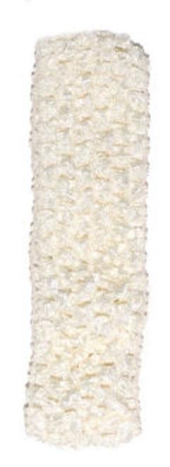 Light Ivory Crochet Headband