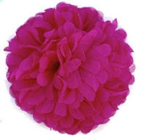 Chiffon flowers - Hot Pink