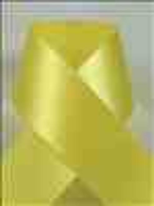 Lemon Double Face Satin