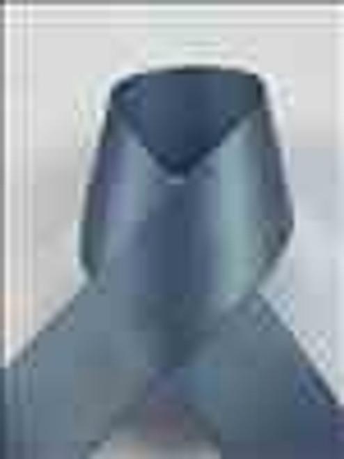 Dark Slate Single Faced Satin Ribbon