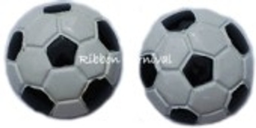 Soccer Ball Flat Back Resins