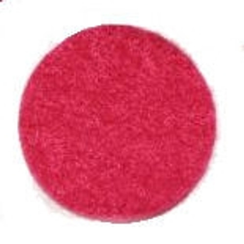 Shocking Pink Felt Craft Circles available in 1 and 1.5 inch widths.