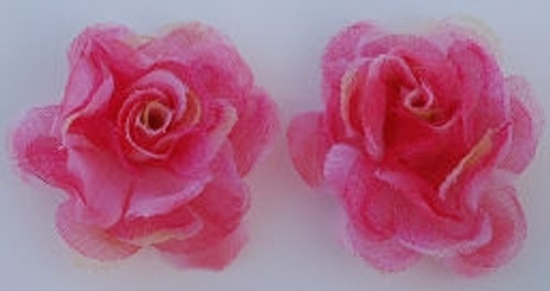 Rose Silk Flowers - Red