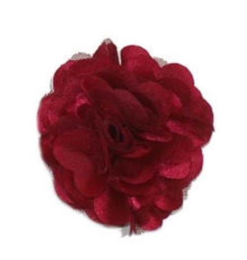 Rosette flowers - Burgundy