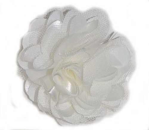Rosette flowers -White